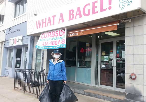 Order Pipckup from What a Bagel
